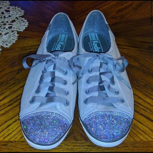 Keds Shoes - Keds Lace Up and Glitter Toe Shoes